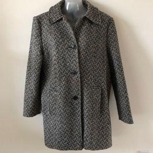 Miss New Yorker vintage car coat size Med